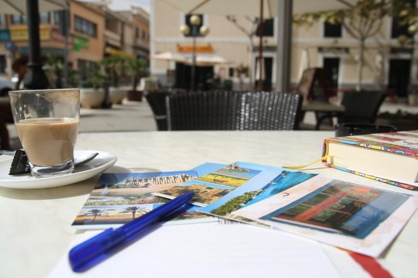 Kawa w Palmie