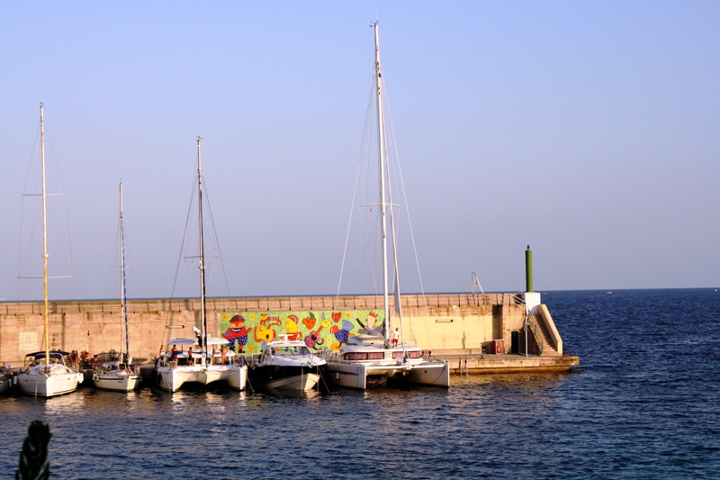 port, Cala Rajada