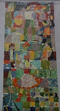 Mozaika na Domu Kultury w Myszkowie