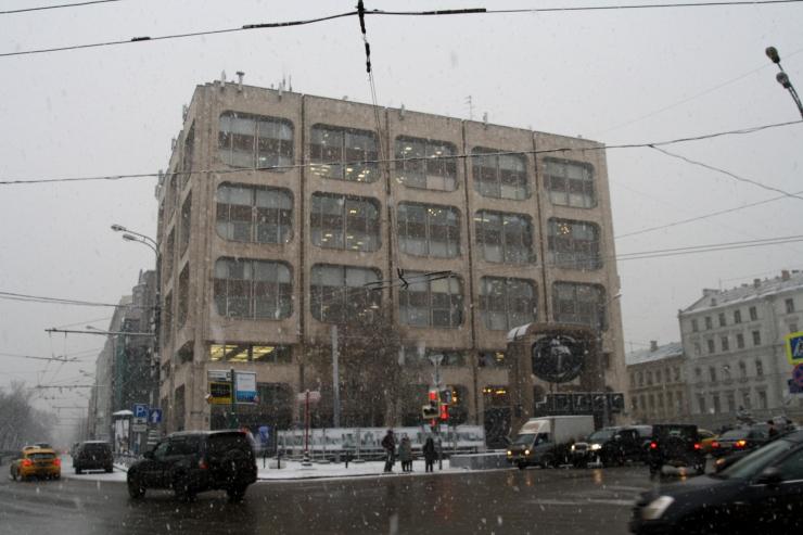 A w tym budynku nie wiem co się znajduje, może Wy wiecie?
