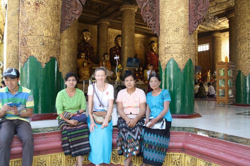 kobiety w Birmie i ja