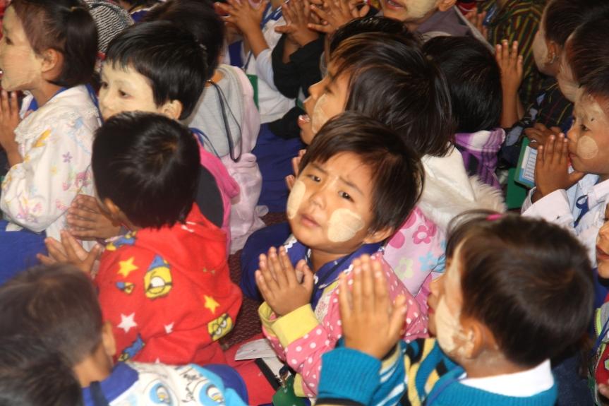 dzieci w Birmie,2