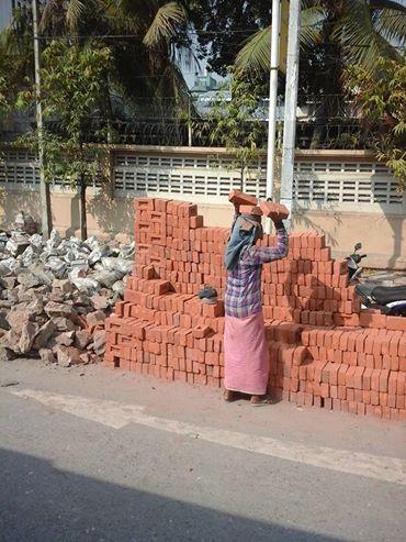 kobieta w Mandalay