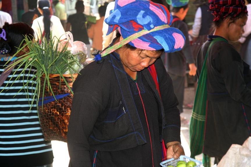 kobieta z plemienia Pa-O