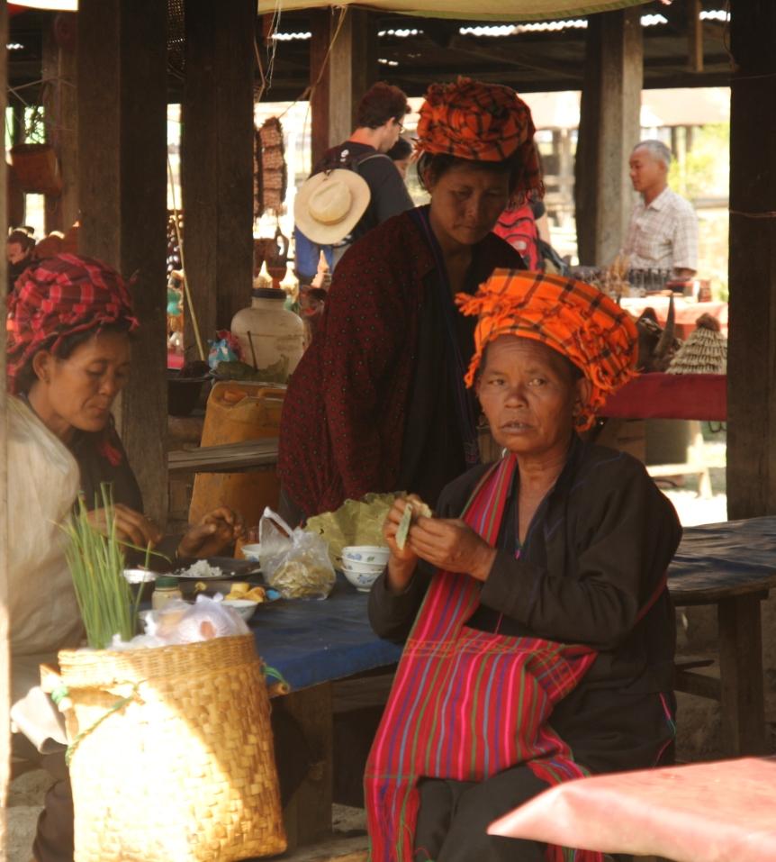 kobiety z plemienia Pa-O
