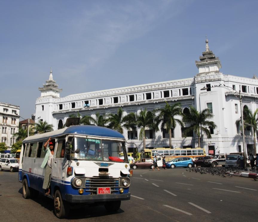 kolonialny Yangon
