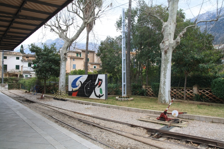 pociąg do Soller